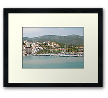 Skiathos coastline, Greece Framed Print