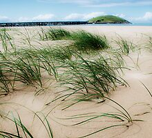 Sand dune at the Jetty by Melinda Watson