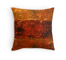 Looking out at an Apocalypic Waste Throw Pillow