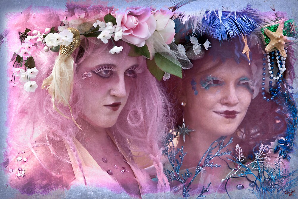 The Kostume Girls at the Mermaid Parade 2011 by Chris Lord