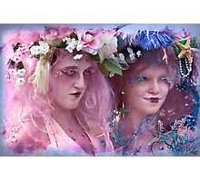 The Kostume Girls at the Mermaid Parade 2011 Photographic Print