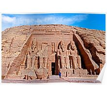 Great Temple of Ramses II Poster