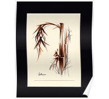 Huntington Gardens Plein Air Bamboo Drawing #1 Poster