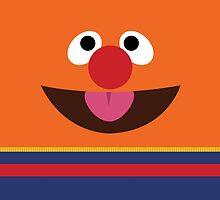 Ernie Sesame Street by dannyaasgard