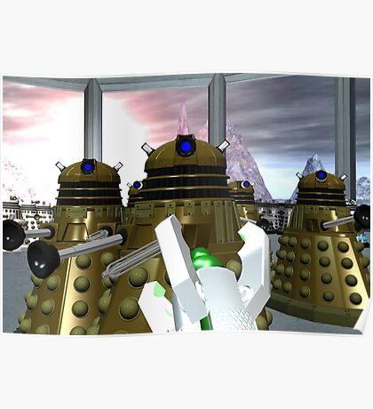 Daleks - Oops! Poster