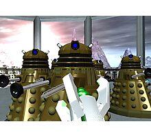 Daleks - Oops! Photographic Print