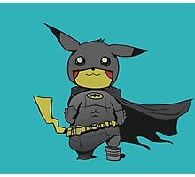 Bat Pikachu Photographic Print