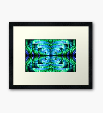 Light Saber Framed Print
