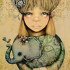 elephant child by © Karin (Cassidy) Taylor