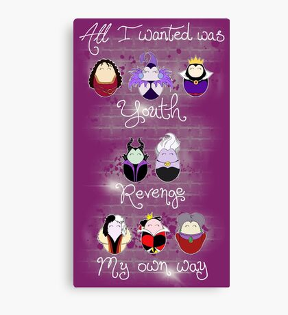 The Wicked Ladies Canvas Print