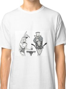 The March Hare and the Mad Hatter Classic T-Shirt