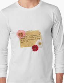 Plant your own garden quote Long Sleeve T-Shirt