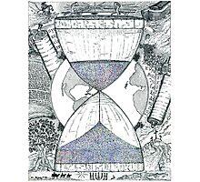 Hourglass Photographic Print