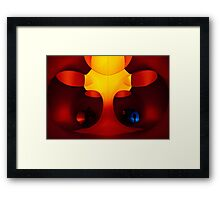 The Tree - inside Levity III Framed Print