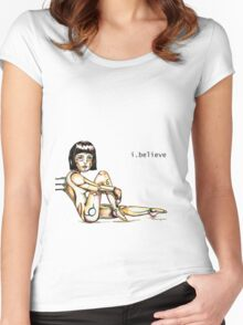 i.believe Women's Fitted Scoop T-Shirt