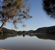 Towards the MacDonald - Hawkesbury River NSW by Bev Woodman