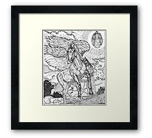 Revelation Return Of The King Framed Print
