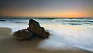 Solitary Sundown by Sean Farrow