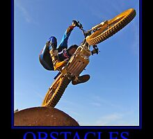 Moto trials Obstacles Poster by Tonyp884