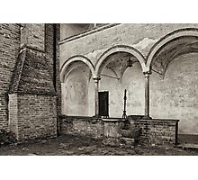 Well and arcade Photographic Print