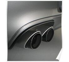 Porsche C4S OE Exhaust Poster