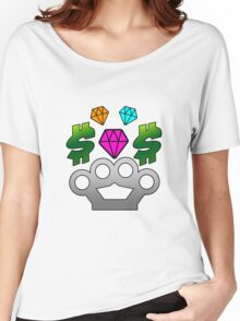 diamond-money-brassknuckles Women's Relaxed Fit T-Shirt