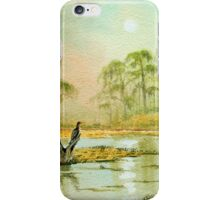 Misty Sunrise Wakulla River Florida iPhone Case/Skin