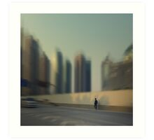 On the road... Art Print