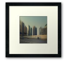 On the road... Framed Print