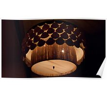 Clamshell Lamp Poster