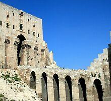 Citadel, Aleppo, Syria by Justine Wright