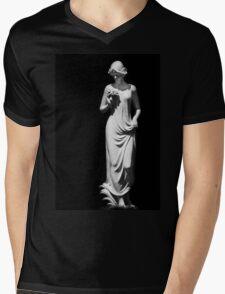 Sculpture Mens V-Neck T-Shirt