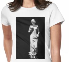 Sculpture Womens Fitted T-Shirt