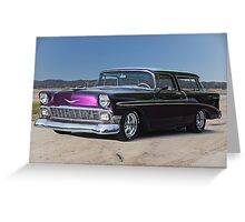1956 Chevrolet Bel Air 'Nomad' Wagon Greeting Card