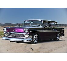 1956 Chevrolet Bel Air 'Nomad' Wagon Photographic Print