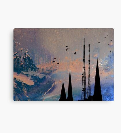 Theory of Flight - Swifts Canvas Print