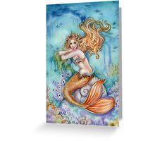Mermaid Fantasy Art Under the Sea Greeting Card