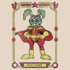 Bucky O'Hare Faded T-Shirt by dangerliam