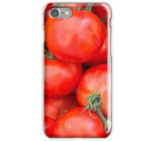 tomatoes at the market iPhone Case/Skin