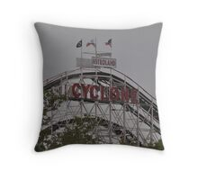 The Cyclone, Coney Island, NY Throw Pillow