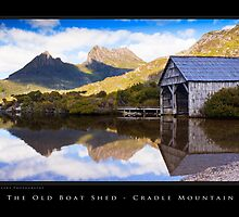 The Old Boat Shed - Dove Lake by MadKeane