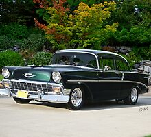 1956 Chevrolet 210 Sports Coupe by DaveKoontz