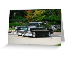 1956 Chevrolet 210 Sports Coupe Greeting Card