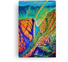Koiahi Gulch Canvas Print