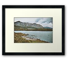 Mother Earth Is Breathing Framed Print