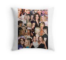 tinamy collage Throw Pillow