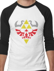 Hylian Hero Men's Baseball ¾ T-Shirt