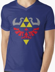Hylian Hero Mens V-Neck T-Shirt