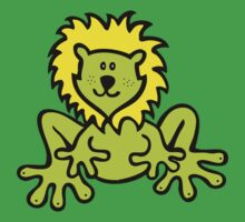 Froglion design for clothing Kids Tee