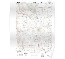 USGS Topo Map Oregon Sun Pass 20110719 TM Poster